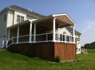 After Custom Deck Construction - Millstone, NJ